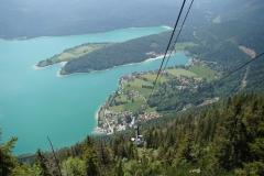 der Walchensee - Bergbahn Herzogstand