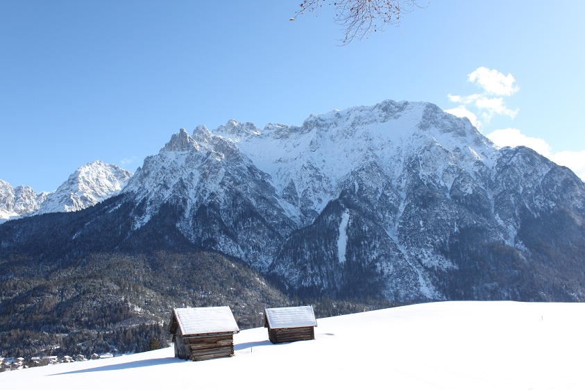 Winter in Mittenwald